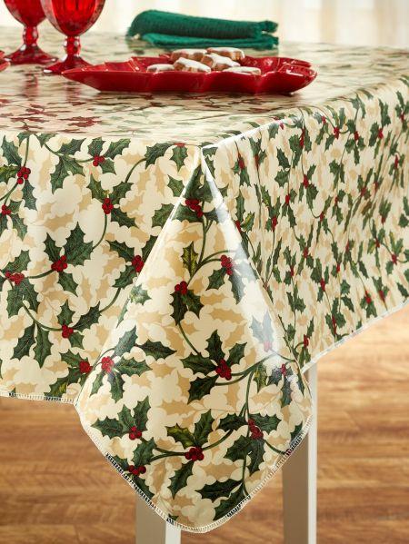 Heavy Duty Oilcloth Tablecloth