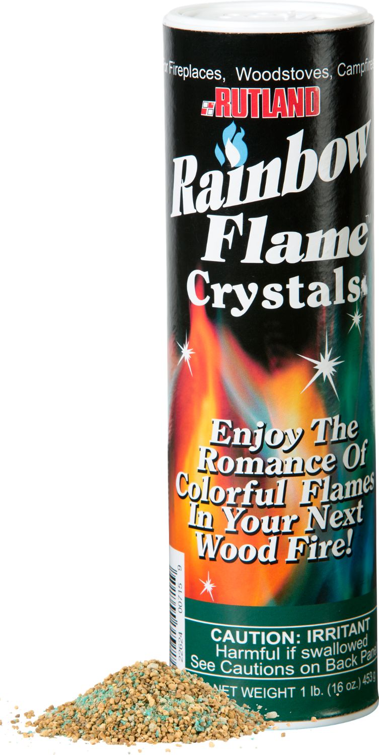 Rutland Rainbow Flame Crystals Color Fire Crystals