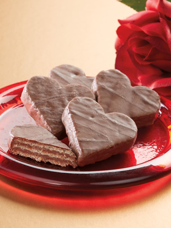 Chocolate Rum Truffle Hearts, 2 Bags