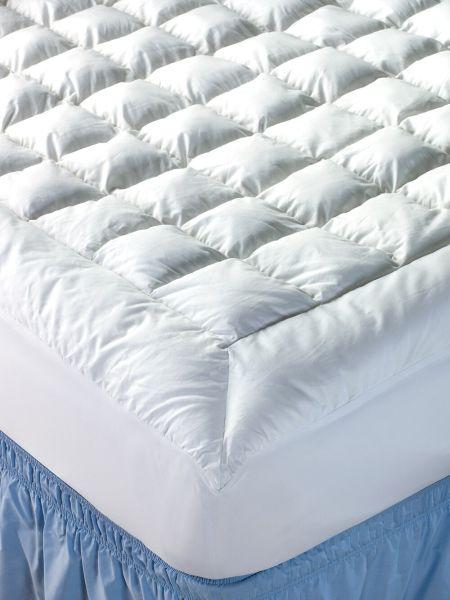 Quilted Cotton Mattress Pad Heavenly Loft Mattress Topper