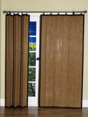 Woven Bamboo Blackout Panel