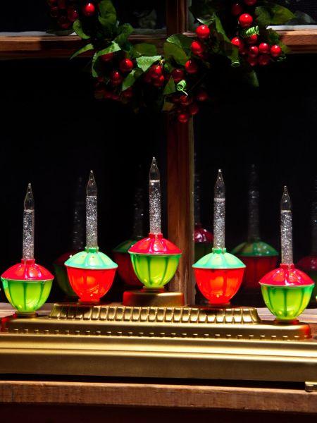 Bubble Light Candolier | Christmas Bubble Lights