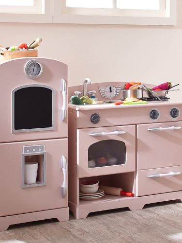 Retro Play Kitchen for Kids