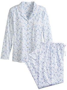 6bd43af0ac Eileen West Delft Blue Pajamas