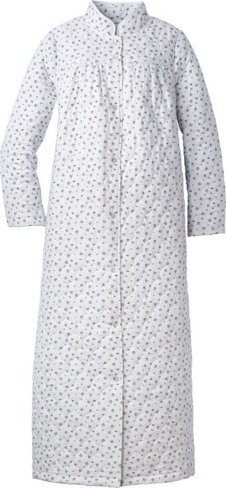 Womens Quilted Flannel Robe  8530658f3