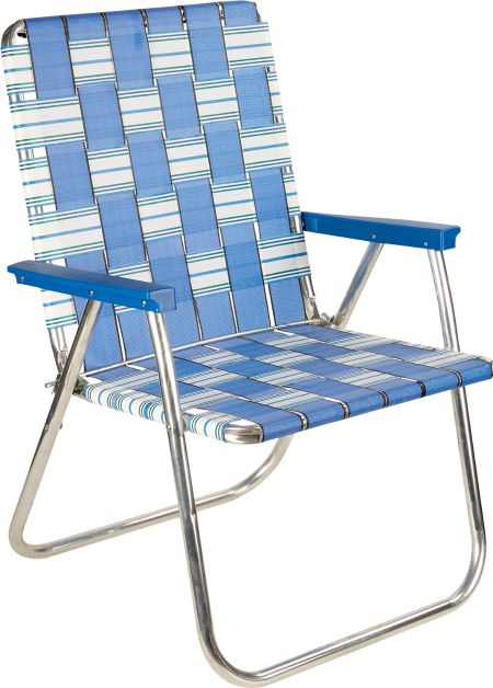 Extra Wide Aluminum Folding Lawn Chairs