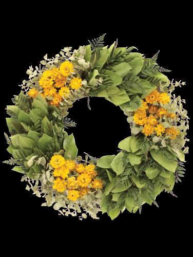 Good Morning Sunshine 16 Dried Wreath