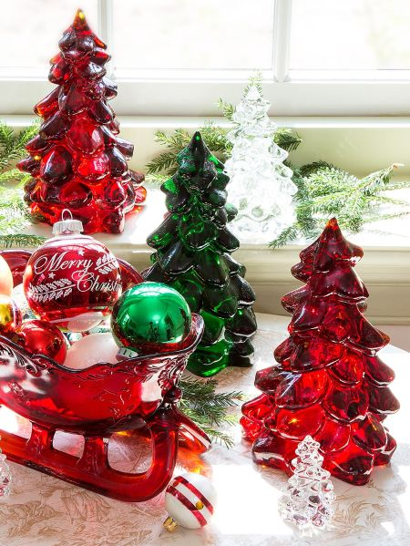 mosser glass christmas trees