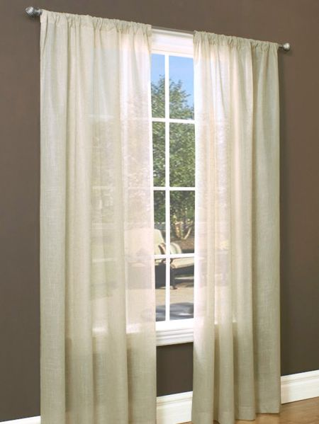 Light And Lineny Insulated Rod Pocket Curtain Panel