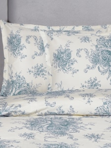 Cotton Toile Comforter Cover Set