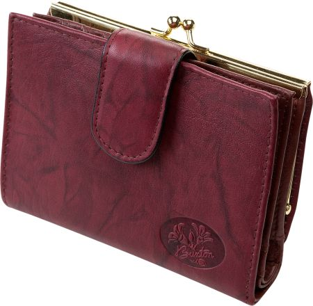 Maroon Buxton Double Cardex Leather Wallet fc6a1cad2883c