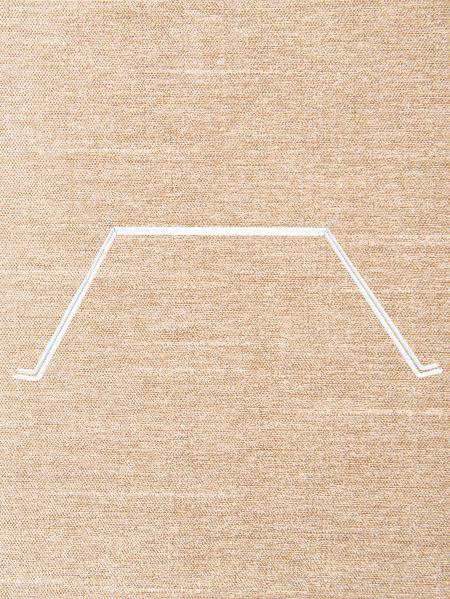 Adjustable Double Bay Window Curtain Rod Set