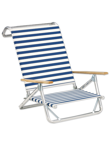 Wondrous Original Beach Chair With Wood Arms Home Interior And Landscaping Oversignezvosmurscom