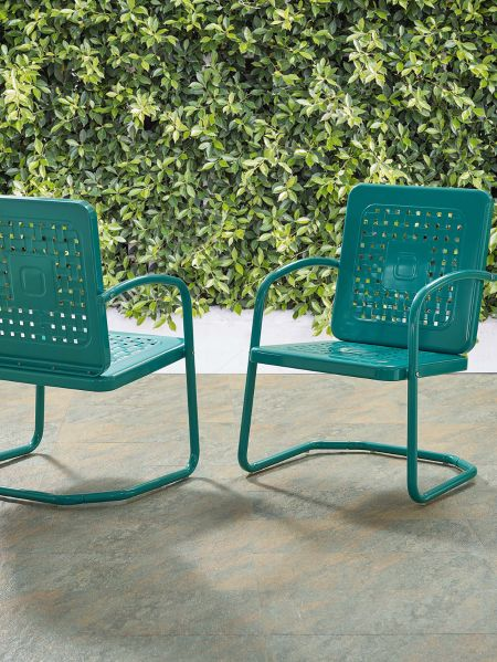 Garden Party Metal Patio Chairs Steel, Outdoor Furniture St Peters Mo