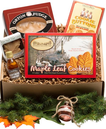Gourmet gift baskets unique gift sets vermont maple lovers gift box negle Choice Image