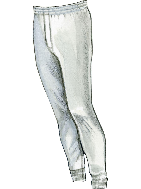 520123788 Mens Silk Long Underwear Bottoms by Thermasilk