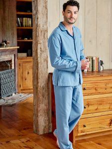 Mens Pajamas | Cotton And Flannel Sleepwear
