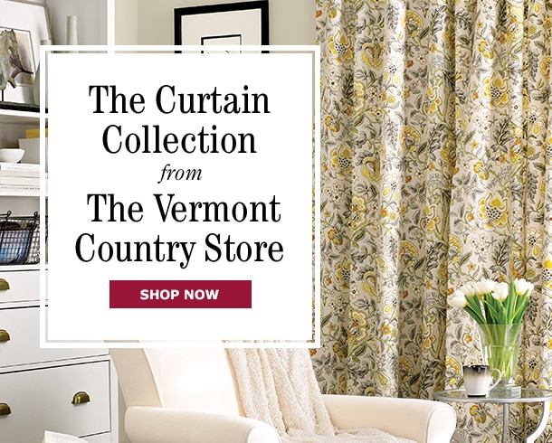 The Curtain Collection At The Vermont Country Store