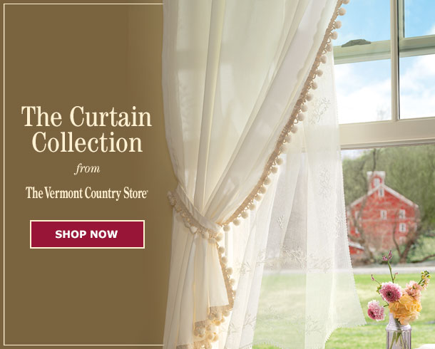 Wondrous Your Favorite Country Curtains Now At The Vermont Country Store Download Free Architecture Designs Estepponolmadebymaigaardcom