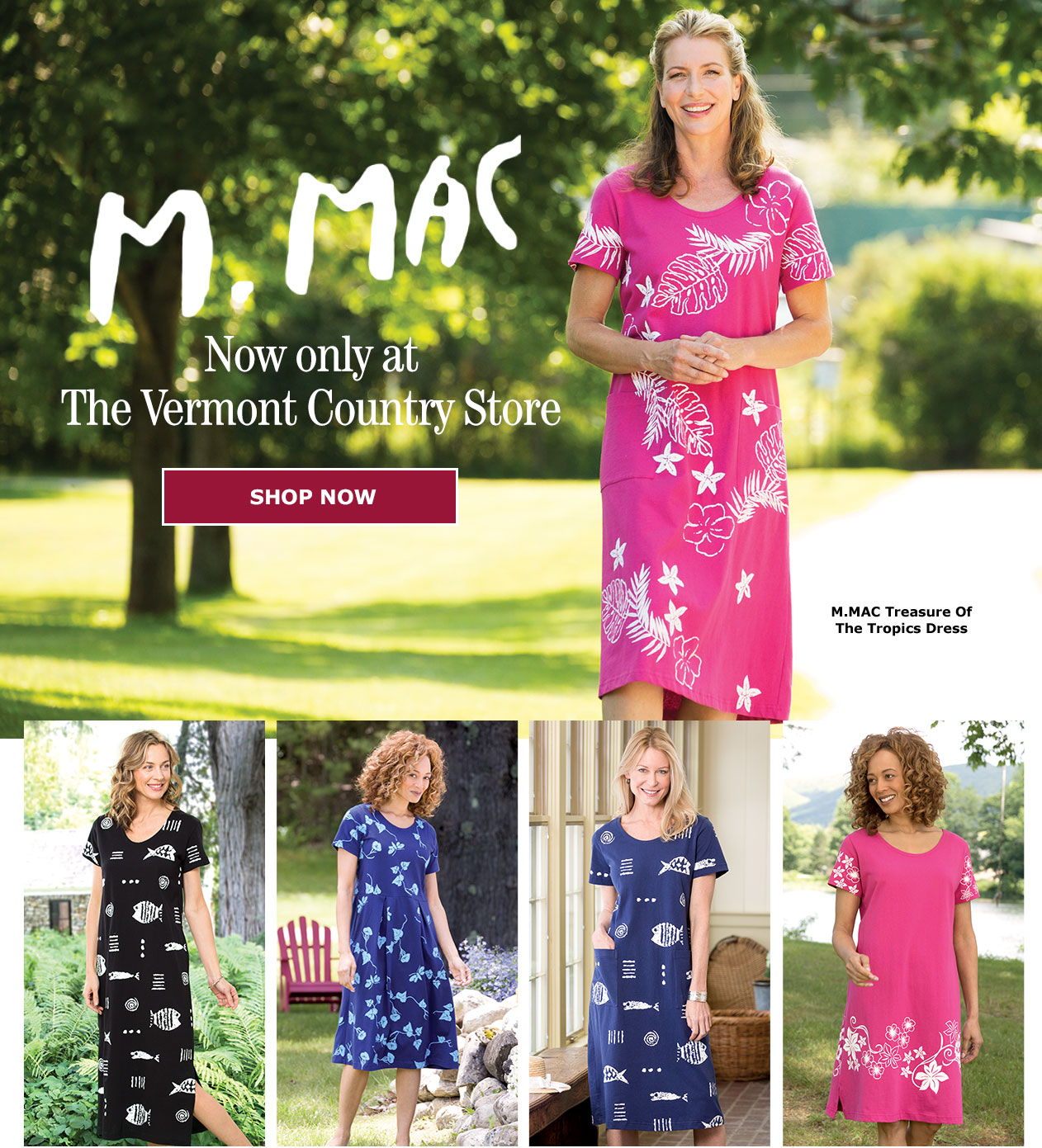 The M.MAC Collection at The Vermont Country Store